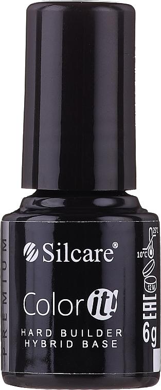 Prebase para uñas de gel - Silcare Color It Premium Hardi Builder Hybrid Base