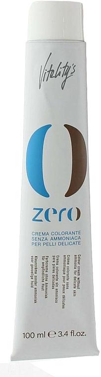 Crema colorante profesional sin amoníaco (no incluye oxidante) - Vitality's Zero Color Cream