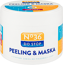 Perfumería y cosmética Mascarilla para pies bifásica - Pharma CF No.36 Peeling & Mask