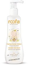 Perfumería y cosmética Loción corporal para bebés con miel & mateca de karité para piel sensible - Roofa Honey Body Lotion