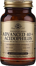 Perfumería y cosmética Complemento alimenticio en cápsulas vegetales advanced 40+ acidophilus, 60 cáp. - Solgar Advanced 40+ Acidophilus
