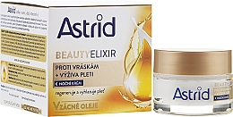 Perfumería y cosmética Crema antiarrugas de noche con aceite de argán, macadamia y almendra - Astrid Moisturizing Anti-Wrinkle Day Night Cream