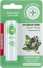 Perfumería y cosmética Bálsamo labial protector con vitaminas A y E - Médico casero