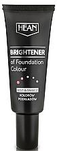 Perfumería y cosmética Base de maquillaje abrillantadora con color y vitamina E - Hean Brightener of Foundation Colour