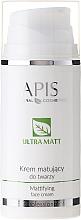 Perfumería y cosmética Crema facial matificante con raíz de iris florentina, algas marinas & ácido hialurónico - APIS Professional Matting Face Cream