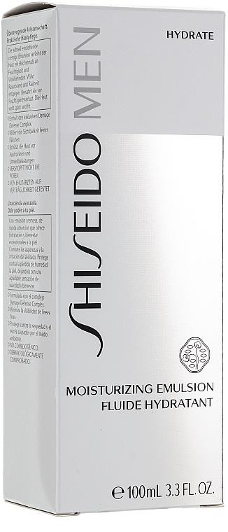 Emulsión relajante antipolución para hombres con linalool - Shiseido Men Moisturizing Emulsion  — imagen N3