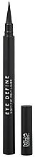 Perfumería y cosmética Delineador de ojos de larga duración - MUA Eye Define Soft Tip Felt Liner