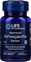 Perfumería y cosmética Complemento alimenticio de Ashwagandha, en cápsulas - Life Extension Ashwagandha