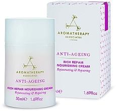 Perfumería y cosmética Crema facial nutritiva y reparadora con aceite de inca inchi y cupuazú - Aromatherapy Associates Anti-Ageing Rich Repair Nourishing Cream