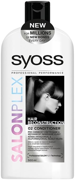 Acondicionador para cabello dañado - Syoss SalonPlex Hair Conditioner