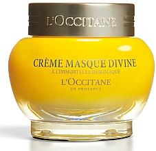 Perfumería y cosmética Crema mascarilla facial con aceite esencial de siempreviva orgánica - L'occitane Cream Mask Divine