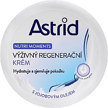 Perfumería y cosmética Crema facial regeneradora con aceite de jojoba - Astrid Nutri Moments Nourishing Regenerating Cream