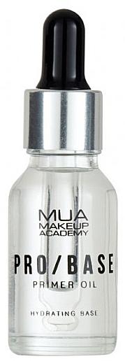 Prebase facial hidratante - Mua Pro/ Base Primer Oil