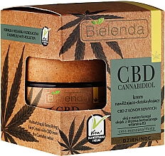 Perfumería y cosmética Crema facial antipolución con aceite de semila de cáñamo, árbol de té y vitamina B3 - Bielenda CBD Cannabidiol Cream