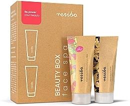 Perfumería y cosmética Set de cuidado facial, formato mini - Resibo Beauty Box Face Spa  (mascarilla/15ml + peeling/15ml)