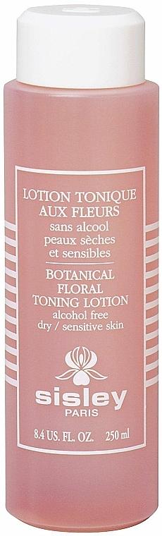 Loción facial tonificante floral con hidrolatos de rosa y hamamelis - Sisley Lotion Tonique Aux Fleurs Floral Toning Lotion Alcohol-Free — imagen N1