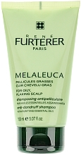 Champú anticaspa para cuero cabelludo graso con aceite de árbol de té - Rene Furterer Melaleuca Anti-Dandruff Shampoo Oily Scalp  — imagen N1