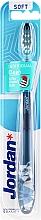 Perfumería y cosmética Cepillo de dientes suave Individual Clean, gris-azul con búho - Jordan Individual Clean Soft