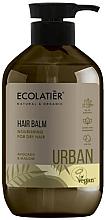 Perfumería y cosmética Acondicionador nutritivo para cabello seco, aguacate y malva - Ecolatier Urban Hair Balm