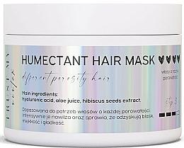 Perfumería y cosmética Mascarilla capilar hidratante con ácido hialurónico y jugo de aloe vera - Trust My Sister Humectant Hair Mask
