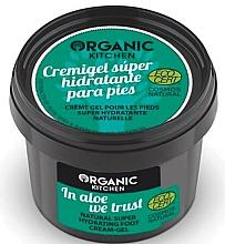 Perfumería y cosmética Crema gel para pies con aloe, eco - Organic Shop Organic Kitchen Foot Cream-Gel