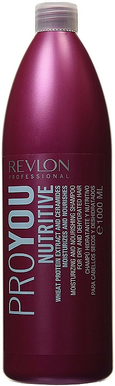 Champú hidratante y nutritivo con extracto de romero - Revlon Professional Pro You Nutritive Shampoo — imagen N2