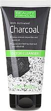 Perfumería y cosmética Gel limpiador facial con carbón activado - Beauty Formulas Charcoal Detox Cleanser