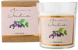 Perfumería y cosmética Vela aromática, verbena - Ambientair Le Jardin de Julie Verveine