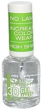 Perfumería y cosmética Top coat, efecto gel de larga duración - Miss Sporty Nail Expert 3D Gel Effect Top Coat