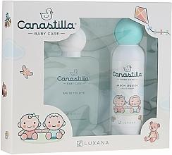 Perfumería y cosmética Luxana Canastilla - Set para bebés (eau de toilette/100ml + jabón líquido/150ml)
