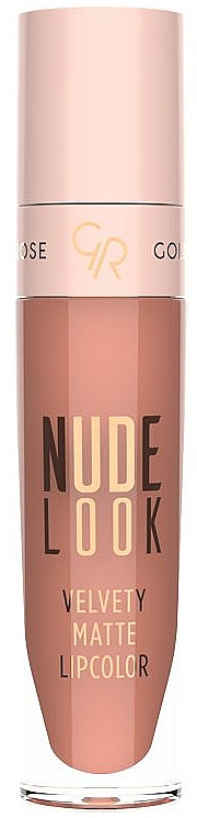 Labial líquido efecto mate - Golden Rose Nude Look Velvety Matte Lipcolor