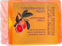 Perfumería y cosmética Jabón natural de glicerina con aroma a cítricos - Le Cafe de Beaute Glycerin Soap