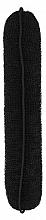 Perfumería y cosmética Esponja de moño, 230 mm, negra - Lussoni Hair Bun Roll Black