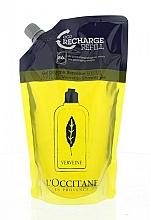 Perfumería y cosmética Gel de ducha con aceite esencial de verbena - L'Occitane Verbena Shower Gel (recarga)