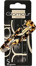 Perfumería y cosmética Pinza de pelo, tigre - Glamour, 417794