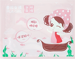 Perfumería y cosmética Parches para contorno de ojos con extracto de algas - Pilaten Pila Girl Seaweed Eye Mask