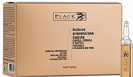 Perfumería y cosmética Tratamiento para cabello con extracto de placenta y D-pantenol en ampollas - Black Professional Line Panthenol & Placenta Lotion