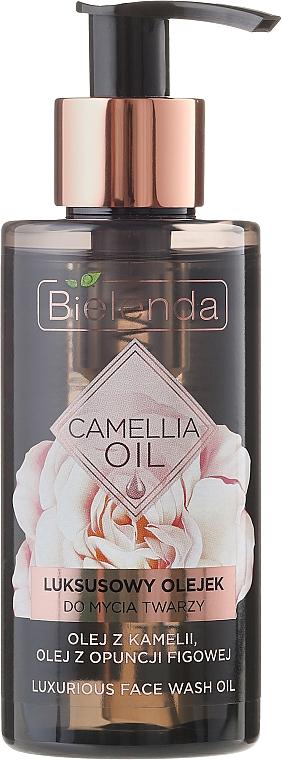Aceite de limpieza facial con camelia - Bielenda Camellia Oil Luxurious Cleansing Oil