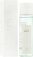 Perfumería y cosmética Tónico facial refrescante con vitamina C y extracto de hamamelis - Sioris Feel So Fresh Toner