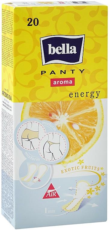 Salvaslips Panty Aroma Energy Exotic Fruits 20 uds. - Bella