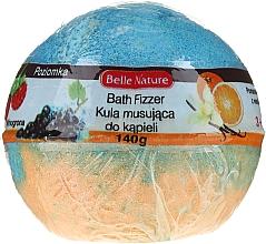 Perfumería y cosmética Bomba de baño efervescente con ácido cítrico, naranja y azul - Belle Nature Bath Fizzer