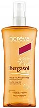 Perfumería y cosmética Leche solar resistente al agua, SPF20 - Noreva Laboratoires Bergasol Sublim Satiny Sun Oil SPF20