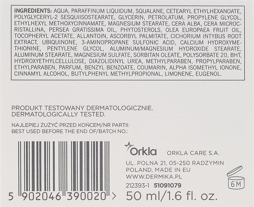 Crema facial renovadora con calcio y coenzima Q10 - Dermika Meritum Cream — imagen N3