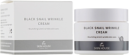 Perfumería y cosmética Crema facial antiarrugas con baba de caracol y colágeno - The Skin House Black Snail Wrinkle Cream