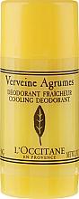 Perfumería y cosmética Desodorante stick con aroma a verbena - L'Occitane Verbena Deodorant Stick