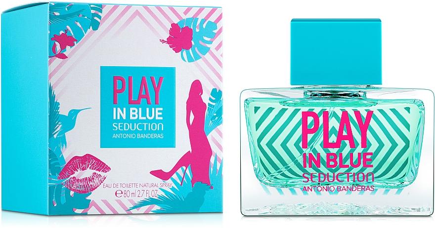 Antonio Banderas Play In Blue Seduction - Eau de toilette — imagen N2