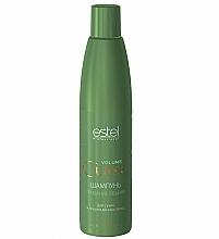 Perfumería y cosmética Champú con aceite de salvia y ácido salicílico - Estel Professional Curex Volume Shampoo for Dry and Damaged Hair