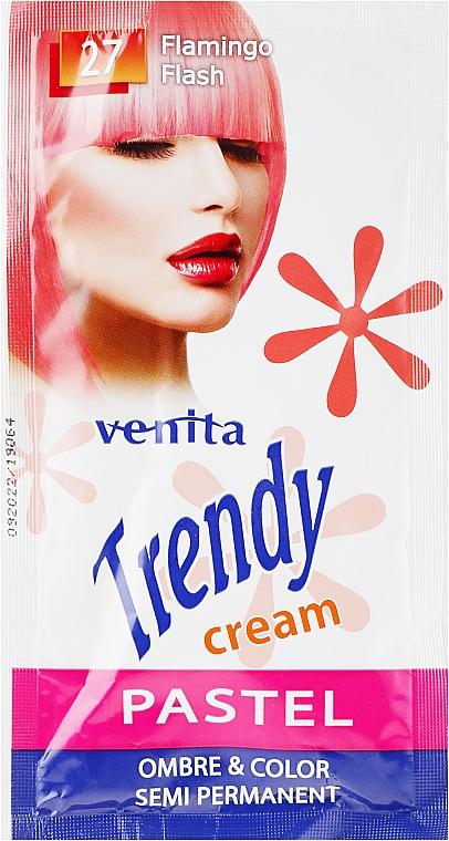 Tónico cremoso semipermanente para cabello - Venita Trendy Color Cream (saché)