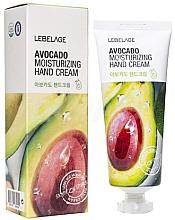 Perfumería y cosmética Crema de manos hidratante con extracto de aguacate - Lebelage Avocado Moisturizing Hand Cream