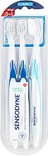 Perfumería y cosmética Cepillo dental de dureza media - Sensodyne Gentle Care Soft Toothbruhs